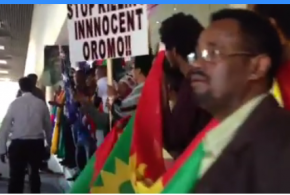Protest against the TPLF in Melbourne